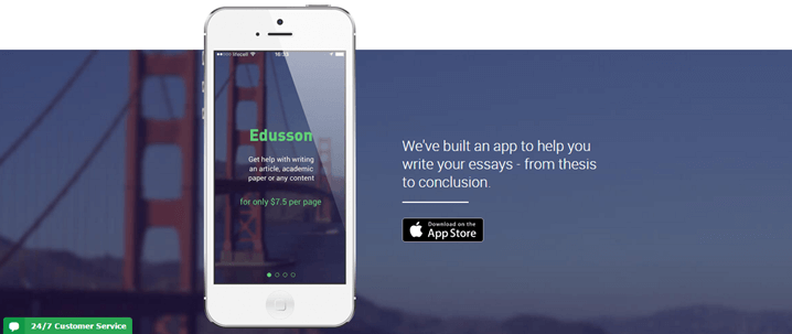 Edusson essay Writing