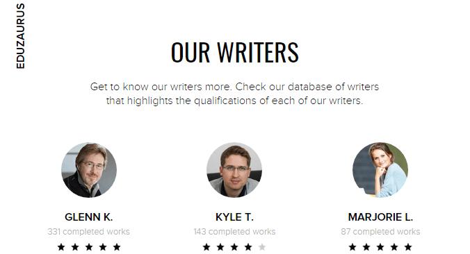 Review of EduZaurus writing service